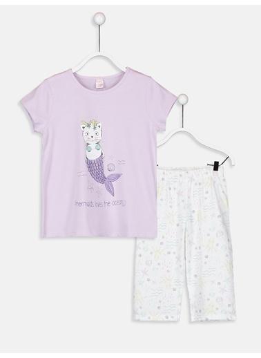 LC Waikiki Pijama Takım Lila